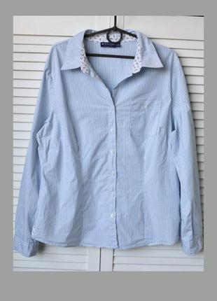 Стильна,натуральная,полосатая рубашка,рубашка в полоску