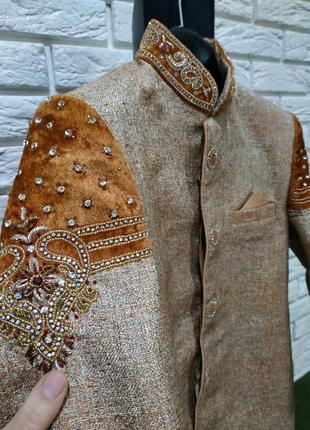Карнавальный пиджак принца, короля, султана