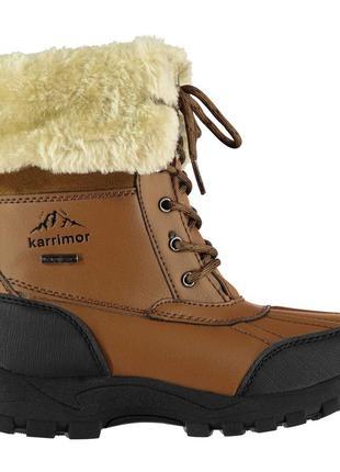Новые зимние водонепроницаемые ботинки karrimor