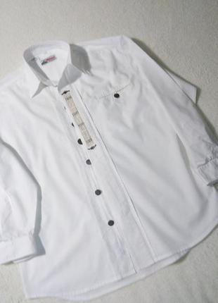 Винтажная рубашка вышиванка alphorn оригинал стильная
