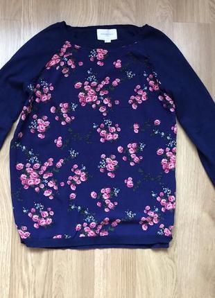 Кофта-блуза в цветочки springfield