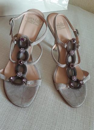 Босоножки туфли vero cuoio италия