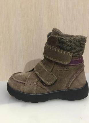 Ботинки зимние сапожки черевики суперфит superfit goreтex р.27 (17см)
