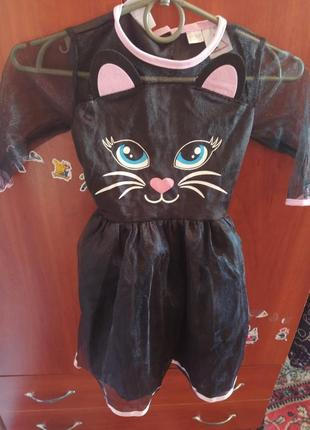 Платье котика