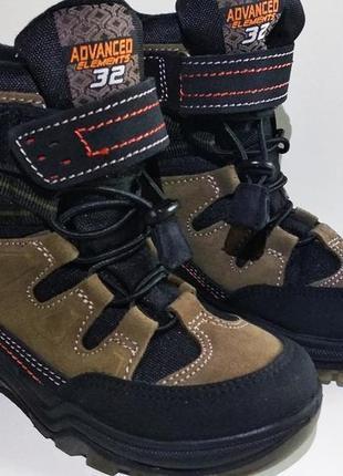 Ботинки детские кожаные bama tex (германия)