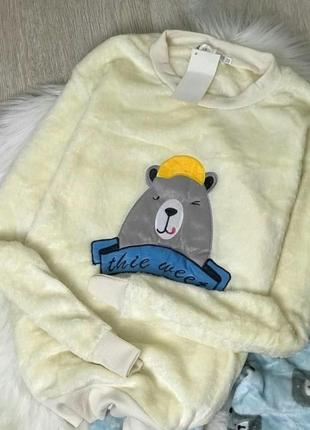 Пижамка махровая