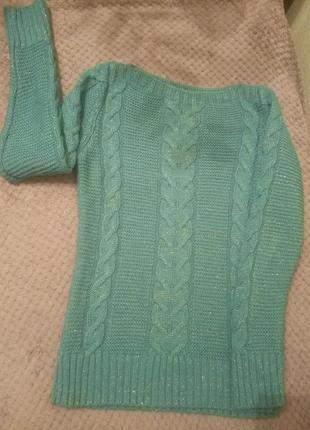 Вязаный свитр