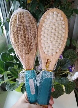 Щетка антицеллюлитная для сухого массажа из кактуса earth therapeutics, ergo-form