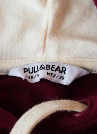 Олимпийка с капюшоном женская pull & bear (s)4