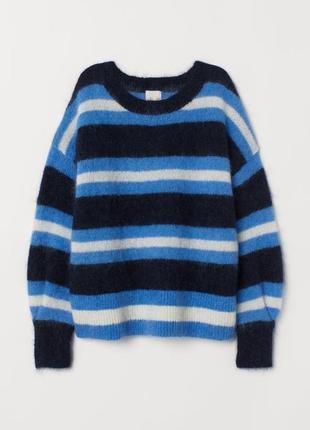 Джемпер пуловер свитер мохер шерсть премиум качество от h&m новая коллекция! размеры2 фото