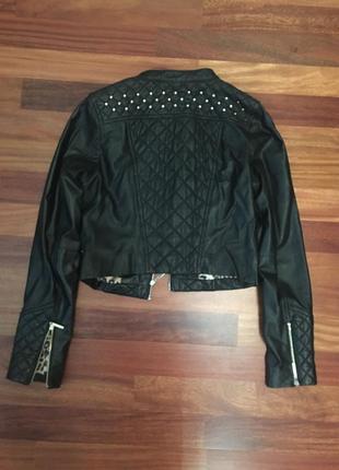 Куртка экокожа стильная