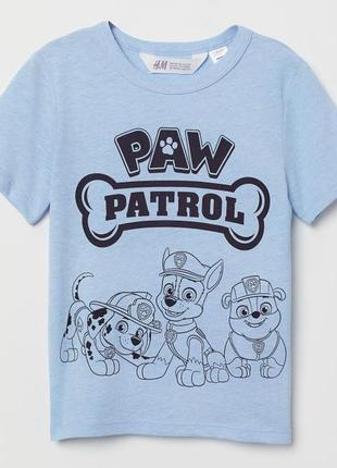 H&m футболка для мальчика патруль