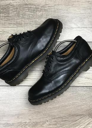 Dr martens оригинал туфли полуботинки кожа