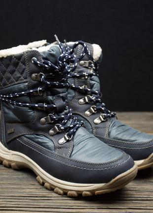 Фінальний розпродаж!!!!непромокаючі зимові чобітки р-38,39,40