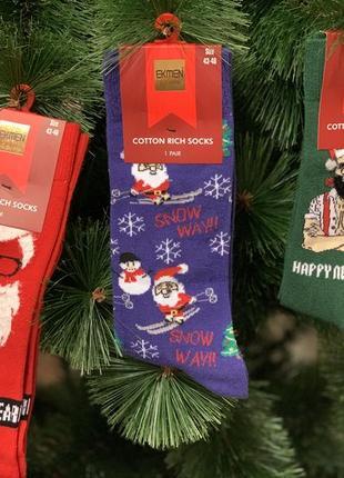 Носки мужские новогодние 🎅