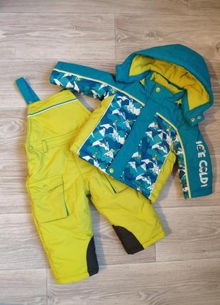 Детский зимний комбинезон (куртка +штаны)