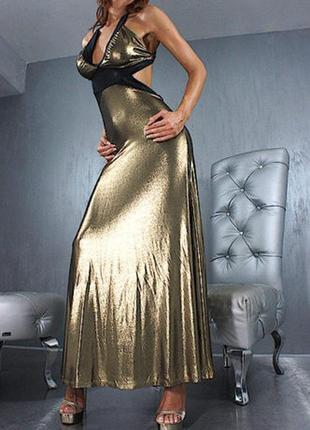 Вечернее платье в пол открытая спина италия