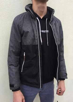Куртка / ветровка с тёплой подкладкой