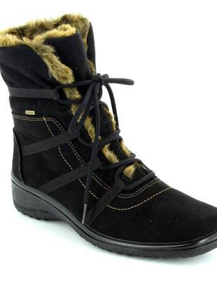 Термо ботинки,полусапоги,сапоги зимние ara (ара) gore-tex