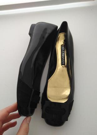Лаковые туфли лодочки next 39 размер на узкую ногу