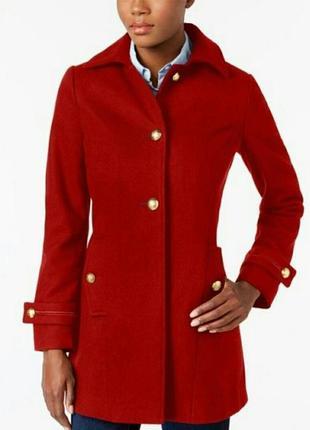Nautica шерстяное пальто в стиле милитари