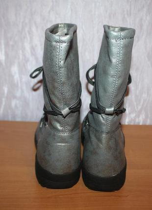 Жіночі зимові чобітки (сапоги) дутіки,луноходи, уггі crane (німеччина)4