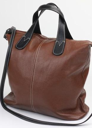 Итальянская кожаная сумка joi fossil liebeskind vera pelle1 фото