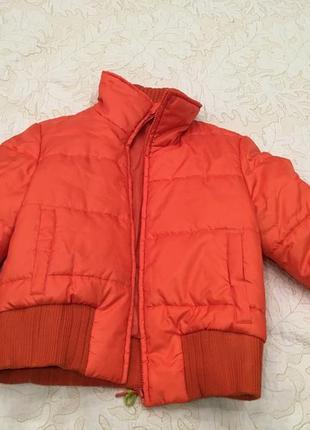 Демисезонная куртка размер 36