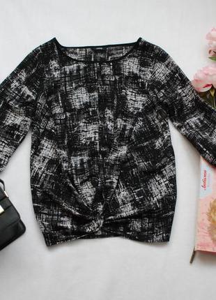Мегаскидки, распродажа, большой выбор...интересная шифоновая блуза с драпировкой спереди