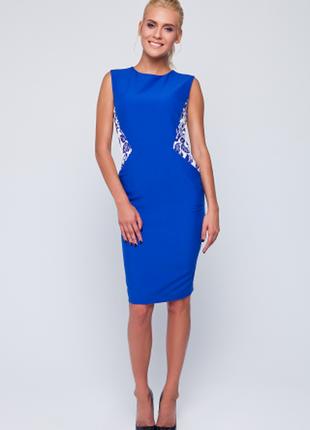 Элегантное синее платье от nenka