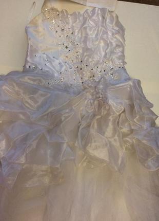 Платье вечернее новогоднее праздничное