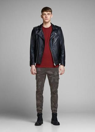 Джинсы, штаны, брюки, карго, мужские, молодежные, jack & jones, размер 28*32, 28*32