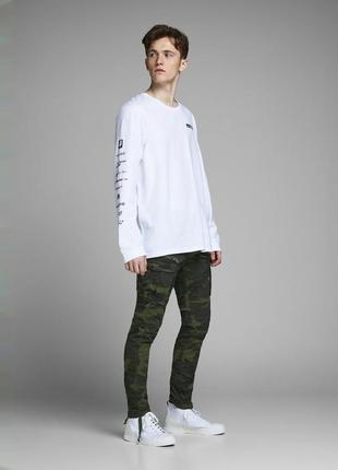 Джинсы, брюки, штаны, карго, военные,  мужские, jack & jones, размер 29*30, 29*32, 30*32
