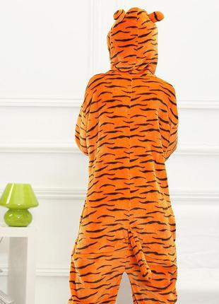 Кигуруми тигр kigurumi халат домашний костюм комбинезон фланель1  Кигуруми  тигр kigurumi халат домашний костюм комбинезон фланель2 ... 93f129d8b7060