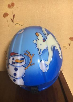 Детский горнолыжный шлем 54-58