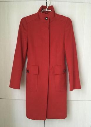 Тёплое шерстяное пальто stefanel