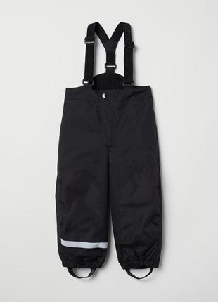 Новый полукомбинезон h&m 104-110 (3-4) штаны комбинезон