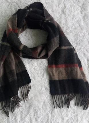 Кашемировый зимний шарф от warren&parker premium