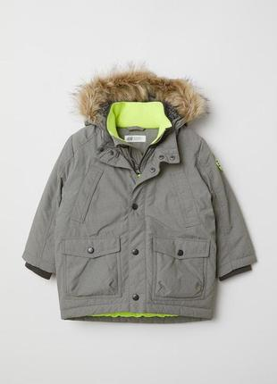 Новая куртка парка 140см h&m