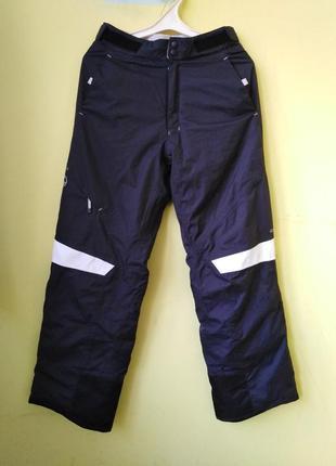 Мембранные зимние термо штаны лыжные quechua m рр