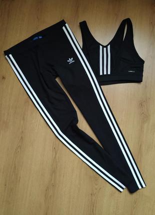 Спортивные леггенсы  от adidas