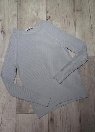 Джемпер, кофта, пуловер, реглан в рубчик george, р.xs-s