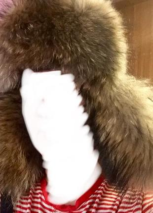 Новая меховая шапка ушанка