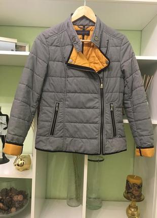 Куртка trussardi jeans демисезонная