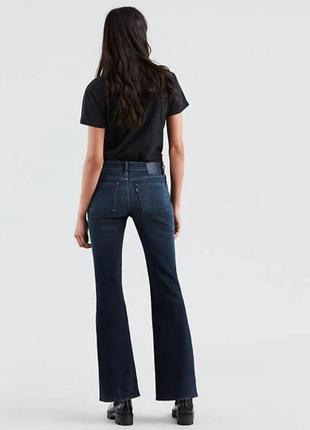 Stems levis jeans, medium wash, синие левис джинсы клеш оригинал
