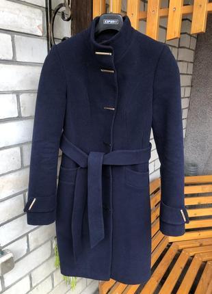Пальто кашемировое утеплённое