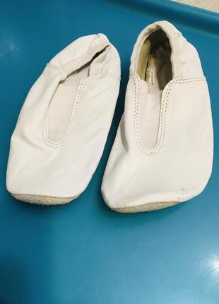 Чешки, балетки кожаные