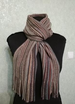 Мужской теплый шарф без бирок.