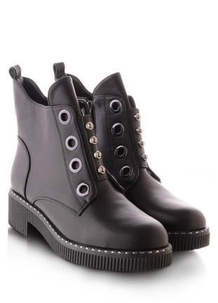Стильные женские ботинки зимние берцы сапоги зима