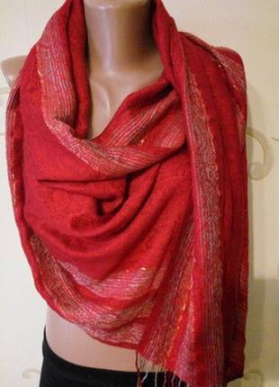 Пашмина шарф шаль палантин